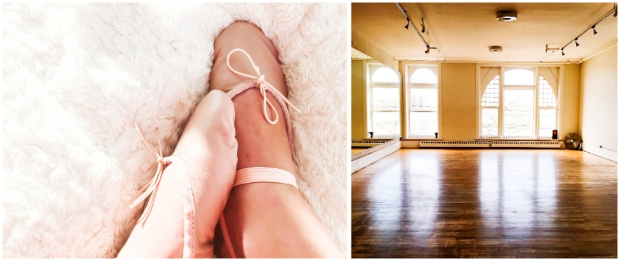 Ballet Shoes and Empty Class