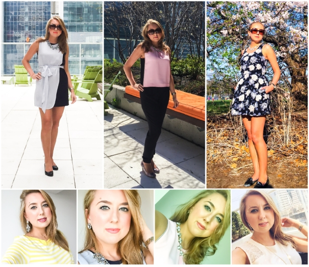 Work Week Outfits - May 4th - 8th 2015